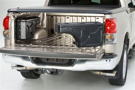 swing out truck bed tool box swingcase swinging wheel well toolbox