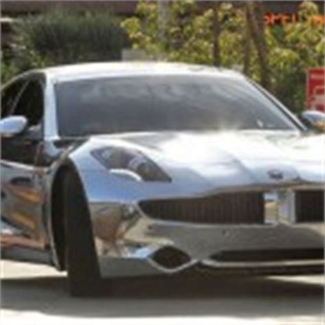 bieber chrome maserati justin bieber s new chrome car fisker karma celebrity carz