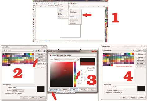 corel draw x6 effects corel draw x6 colour plate editor does not add colours in