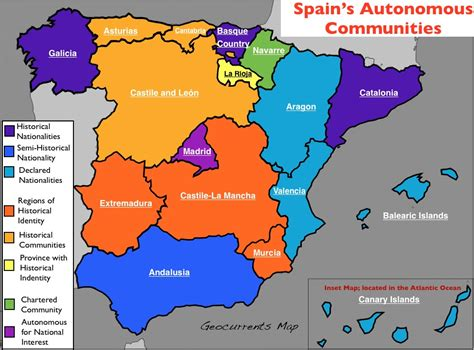 united states map with cities in spanish the spaniard s corner the spanish map