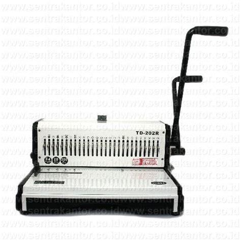 Mesin Laminating Ibico jual mesin binding jilid topas type td 202r harga