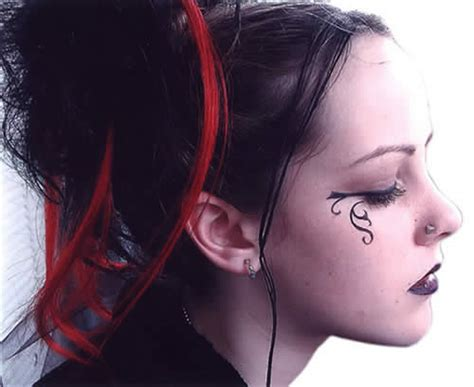 girl hairstyles goth gothic hairstyles and haircuts tips blondelacquer