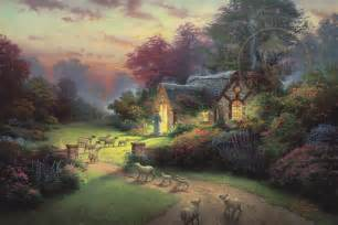 the shepherd s cottage the kinkade company
