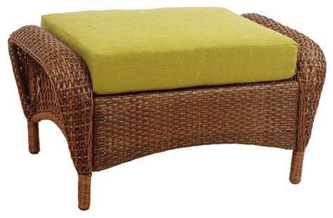 Martha Stewart Living Ottomans Charlottetown Brown All Martha Stewart Outdoor Living Patio Furniture