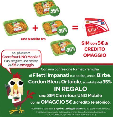 carrefour italia mobile ricarica gratis uno mobile con amadori 187 sostariffe it