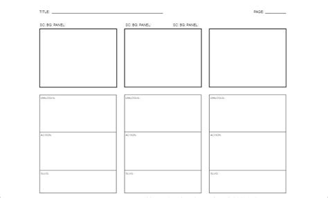 storyboard template word 70 storyboard templates free word pdf ppt documents