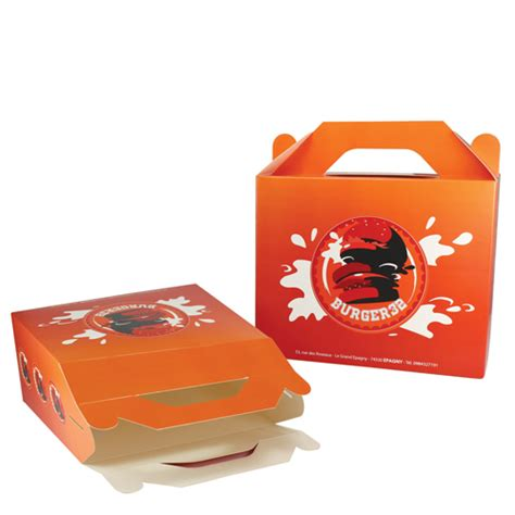 Lunch Box Paper promo catering large paper lunch box
