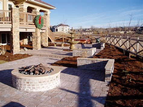 denver pavers pavers colorado outdoor pits