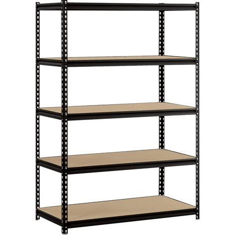 regal gestell edsal maxi rack 5 shelf unit 48in w x 24in d x 72in h