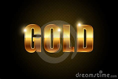 gold text stock image image