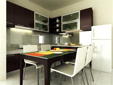 desain dapur plus meja makan ツ 42 desain ruang makan dapur sempit minimalis jadi satu