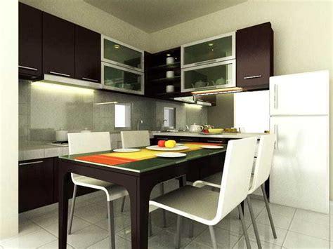 desain ruang makan dapur sempit minimalis jadi satu
