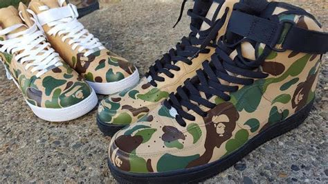 Handmade Running Shoes - custom sneaker quot bape quot nike air one by