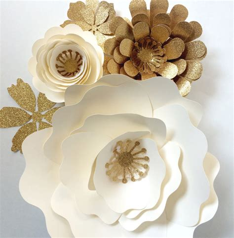 paper flower wedding reception wall ideas mid south