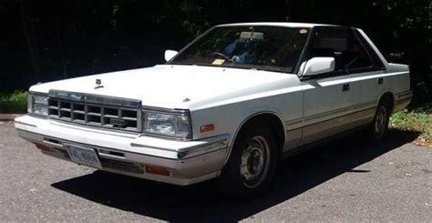 1980 nissan maxima jdm import nissan laurel classic cruiser sedan medalist