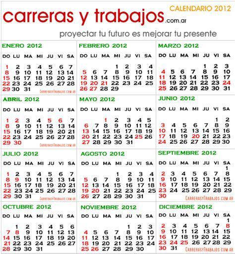 Calendario Abril 2012 Calendario 2012 Argentina Con Feriados Para Imprimir Imagui