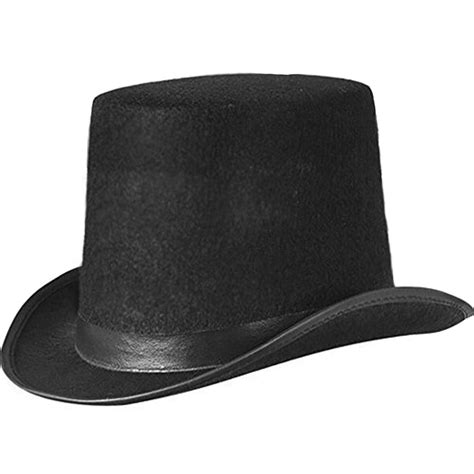 Old English Black Gents Top Hat James Delaney Fancy Dress