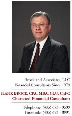 Brock Mba Cpa by Place Preserving Your Health Conference Biography