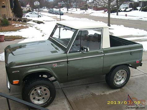 ford bronco half cab 1969 ford bronco half cab