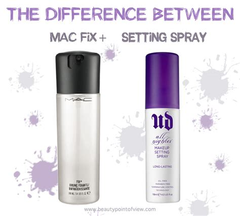 Product Find Mac Studio Mist Blushmac Studio Mist 5 difference between mac fix and setting spray