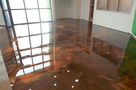 Stunning Home Interiors epoxy resin flooring in newcastle sentinal surfacing