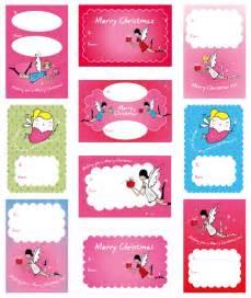 printable christmas gift tag sheets printable tags gorgeous christmas fairy gift tags