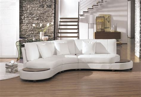 White Leather Sectional Sofa by 2229bc Modern White Leather Sectional Sofa