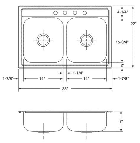 standard bowl sink size sink dimensions kitchen kitchen design ideas