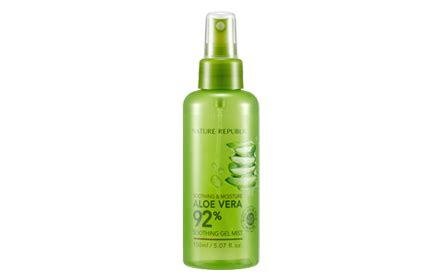 Nature Republic Aloe Vera Soothing Gel Hermo nature republic soothing moisture aloe vera gel mist