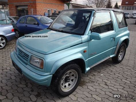 Suzuki Vitara 1997 1997 Suzuki Vitara Cabrio El Fh T 252 V New