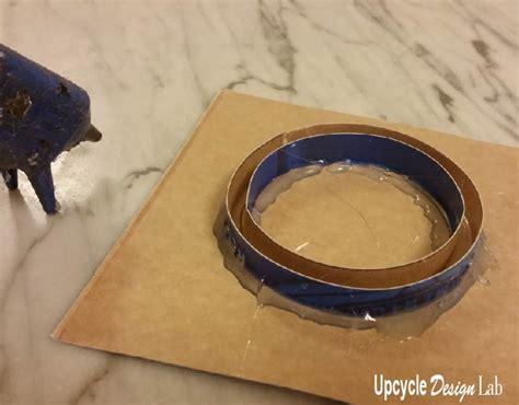 Box Styrofoam Second plastic bracelet upcycled from a styrofoam take out