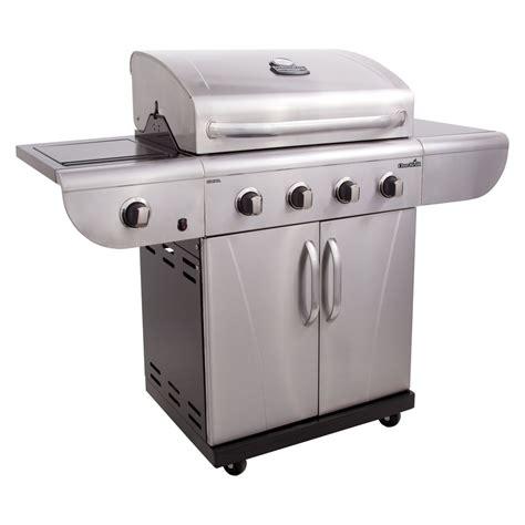 lowes gas grills shop char broil commercial 4 burner 40 000 btu liquid