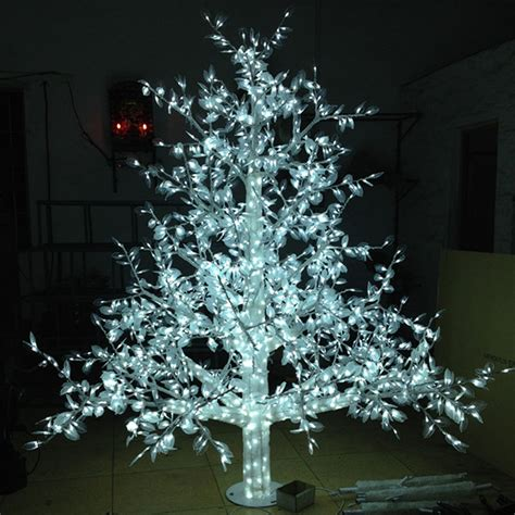 Outdoor Led Tree Lights Aliexpress Buy 1 5meter 864led Outdoor Lighted Artificial Trees Led Outdoor With
