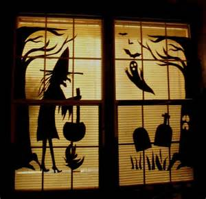halloween window decorations make the best of things so cheap halloween fun decor with
