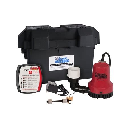 basement watchdog emergency basement watchdog backup pumps basement watchdog