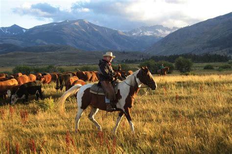 ranch vacations   west american cowboy