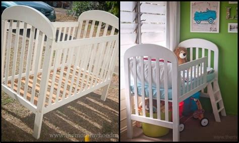 turn crib into toddler bed turn an crib into a toddler bed diy projects for