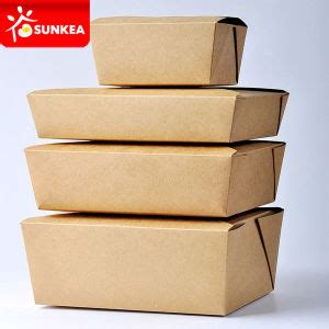 Paper Lunch Box L Lunch Box Kertas Kotak Kertas Food Container food paper containers wholesale china food
