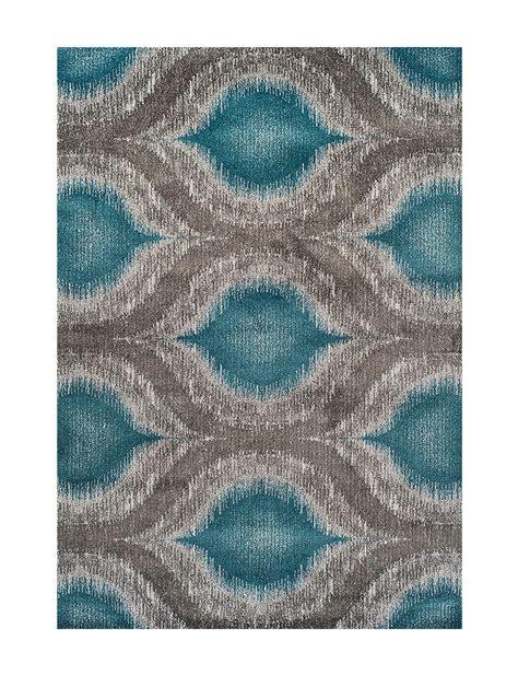 ikat print rug dalyn rugs modern greys collection teal large ikat print area rug stage stores