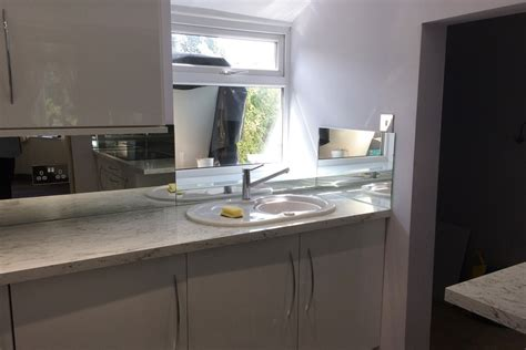 kitchen sink splashback mirror splashback behind kitchen sink min glass