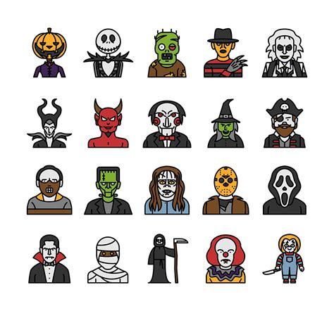This Characters - ハロウィンのキャラクターが揃った無料アイコン characters が可愛い onze