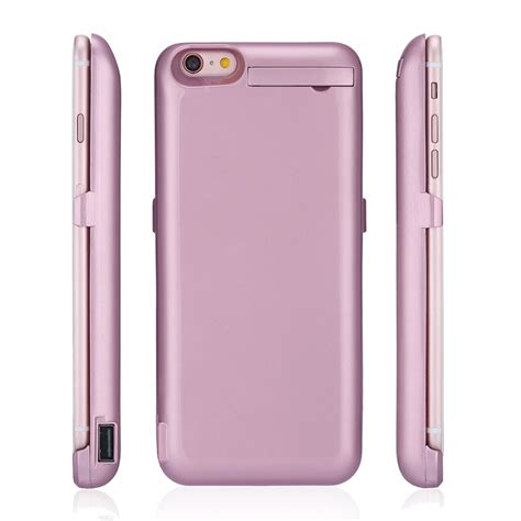 10000mah external battery charger charging cover for apple iphone 6s 6 plus ebay