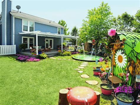 Hgtv Backyard Makeover by Magical Backyard Makeovers Hgtv
