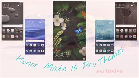 emui themes collection huawei mate 10 pro themes collection leaked emui