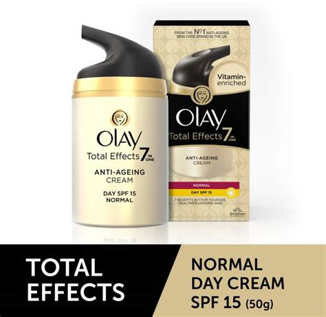 Olay Total Effect Day Spf 15 olay olay total effects 7 in one anti ageing normal