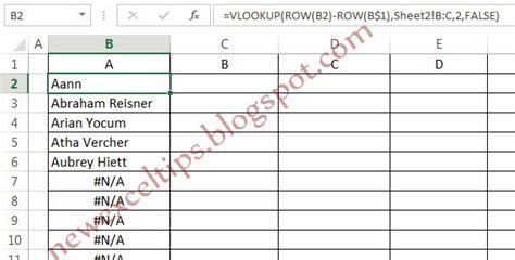 format excel alphabetical order excel tips and tricks arranging names in alphabetical