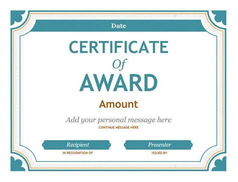 food beverage gift certificate templates word publisher