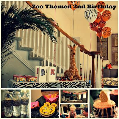 themes zoo story keeping up with the joneses a zoo themed 2nd birthday