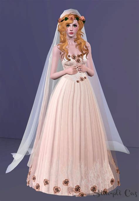 Wedding Hairstyles Sims 3 by The Gallery For Gt Sims 3 Wedding Veil