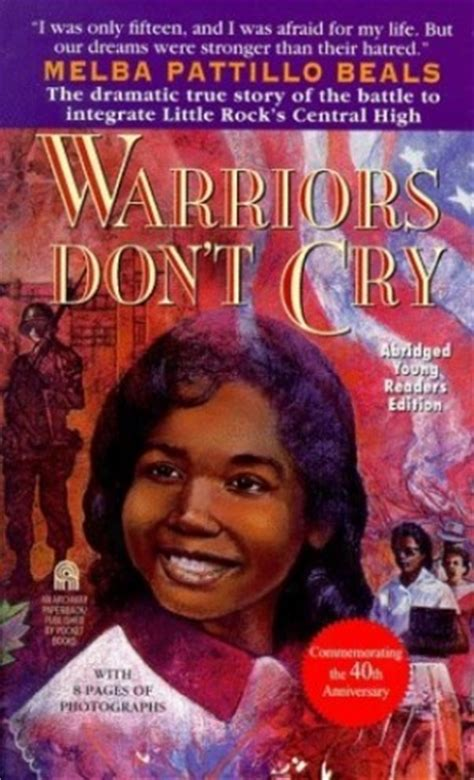 Warriors Don T Cry from warriors dont cry quotes quotesgram